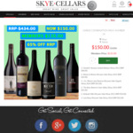 Shiraz Combination Pack Nr: 14 at $150/Dozen - 65% OFF RRP (Delivered) @ Skye Cellars