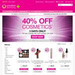Priceline: 40% off Cosmetics Tuesday 10 April till Thursday 12 April