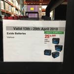 25% off Car Batteries @ Costco (Membership Required)