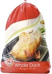 ½ Price Luv-A-Duck 2.1kg Frozen Duck $11.50 @ Coles