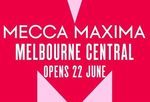 [VIC] Melbourne Central Mecca Maxima - Free Too Faced Chocolate Gold Palette, Mecca Max Haul or Tote