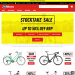$20 off $150 / $50 off $300 at 99 Bikes