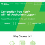 NBN Unlimited Plans 50 / 100 for $69 / $89 Per Month for 6 Months @ Aussie Broadband (New Customers)