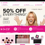 50% off Sitewide with Code @ Australis Cosmetics Plus $9.95 Shipping