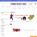 [NSW] 10% off Costumes @ Sydney Party Shop