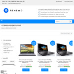 [Refurb] $120 off on All Intel Core i7 Laptops/Desktop/MacBook - from $279 after Discount + Free Shipping @ Renewd