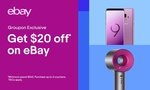 eBay: $5 for $20 to Spend Online - Minimum Spend $140 @ Groupon