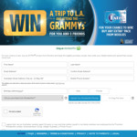 Win a Trip for Four to L.A. to Attend The Grammys Worth $27436 from Wrigley's [Purchase Any Extra Product from Woolworths]