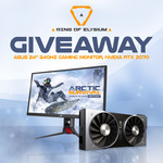"Win Asus 24"" 240hz Monitor and GeForce RTX2070 from Ring of Elysium"