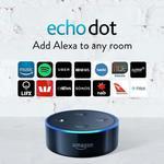 Amazon Echo Dot (2nd Generation) Black, 2 for $99 Delivered @ Amazon AU
