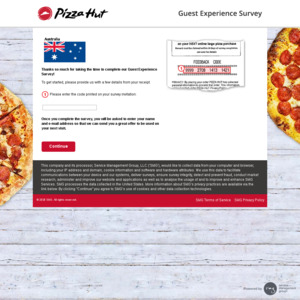 Pizza Hut Free Medium Cheese Lovers Pizza for Completing Survey after Paid Pizza Order