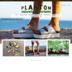 Plakton Sandals   10% off Sitewide - Cork & Leather Sandals Made in Spain, Style from $69 + Shipping, Free Shipping over $150