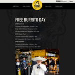 [VIC] Free Burrito Thursday (29/11) from 12PM-7PM @ Guzman y Gomez (Eastland Shopping Centre, Ringwood)