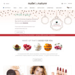 2 for 1 Sitewide (Excl Limited Edition Items and Gift Sets) Bonus $15 Voucher for January Free Shipping Min $50 @ Nude by Nature