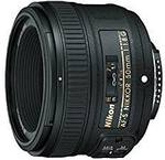 Nikon AF-S Nikkor 50mm F/1.8g Camera Lens $229.95 Delivered (+ $50 Cashback) @ Amazon AU