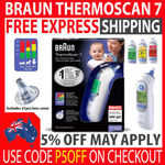 Braun Thermoscan 7 IRT6520 Ear Thermometer + 21 Lens Covers $61.75 @ eBay