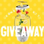 Win 1 of 5 Complete Kombucha Kits Worth $200 from Nourishme Organics