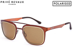 79% off Privé Revaux The Assassin Polarised Sunglasses - Copper $10 + Shipping @ Catch