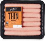 Brannans Thin Sausages 500g $2.00 (Was $2.99) @ ALDI