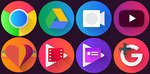 [Android] Free - Graby Spin Icon Pack (Normally $4.59) + All Other Icon Packs by Göktuğ ULAŞ @ Google Play