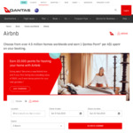 Earn 1 Qantas Point Per $1 Spent on Airbnb Plus 500 Bonus Points for First Booking