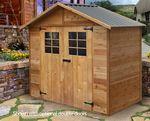 Cedar Timber Garden Shed 8'x4' $1445 Delivered (Save $200), or $50 Off All Timber Shed Range @ Landera