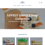 20% Storewide at Lovely Lloyd's Soap Collection