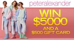 Win $5,000 Cash and a $500 Peter Alexander Gift Card from Seven Network