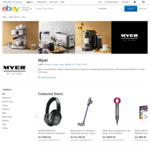20% off Sitewide @ Myer eBay