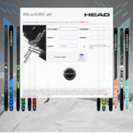 Win a Set of Head KORE Skis with Bindings Worth $1,499 from Head