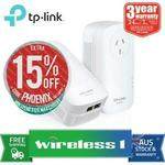 TP-Link AV2000 Powerline Adapter Kit (TL-PA9020P-KIT) /w AC Passthrough $109.65 (eBay Plus) / $116.10 @ Wireless1 eBay
