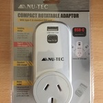 [VIC] Nu-Tec Rotatable Outlet/USB/Type-C - $1 (Clearance) @ Bunnings (Eltham)