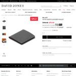 Bellroy Note Sleeve Leather Wallet $79 @ David Jones