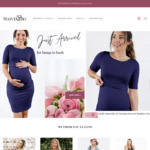 20% off Maive & Bo Maternity Winter Styles