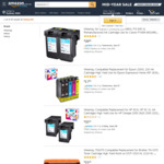 10% off ALL Compatible Ink Cartridges / Toner Cartridges + Delivery (Free with Prime/ $49 Spend) @ Hehua-AU Amazon