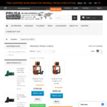 Free Worldwide Shipping on Prusa i3 MK3S 3D Printer Kits Direct, Starting $749 US/ $1066.43 AUD @ PrusaResearch