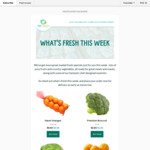 [WA] Weekly Specials - Navel Oranges 3kg $4, Premium Brocolli $1.50, Tbone Steak $9 300g, and More @ WA Fresh Delivered