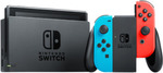 Nintendo Switch Console (Grey or Neon) for $359.10 + Delivery (Free C&C) @ EB Games eBay