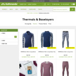 Selected Baselayers & Thermals 3 for The Price of 1 ($29.98 - $69.98 for 3) @ Kathmandu