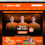 80% off RRP 2018/19 Brisbane Roar Jerseys @ Brisbane Roar Shop