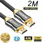 TERSELY Premium 4K HDMI 2.0 Cable 2M/6ft $9.56 + Delivery ($0 with Prime/ $39 Spend) @ Statco via Amazon AU