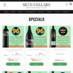 Barossa Cabernet at $88.80/Dozen ($7.40/Bottle) (RRP $240/Dozen) Delivered @ Skye Cellars