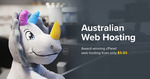 One Year Domain Name Registration (.com.au, .net.au and More) $0.86 @ VentraIP