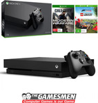 [eBay Plus] Xbox One X 1TB Console + Call of Duty Modern Warfare + Forza Horizon 4 & DLC $412.21 Delivered @ The Gamesmen eBay
