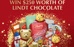 Win 1 of 100 Lindt Christmas Chocolate Collection Packs Worth $250 from Lindt