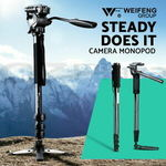 79% off Weifeng Professional Camera Tripod Monopod Stand (Model 3) $20.90 Delivered @ Ozplaza Living eBay