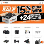 digiDIRECT - 15% off Storewide - Boxing Day Sale (Exclusions Apply)