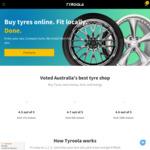 All Tyres 15% off @ Tyroola.com.au
