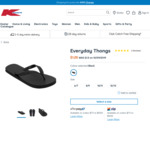 Kmart: $1.25 'Everyday Thongs' - Was $1.50