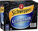 Schweppes Lemonade 30x375ml $13.13 + Delivery ($0 with Prime/ $39 Spend) @ Amazon AU